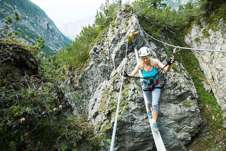 Klettersteig Verborgene Welt