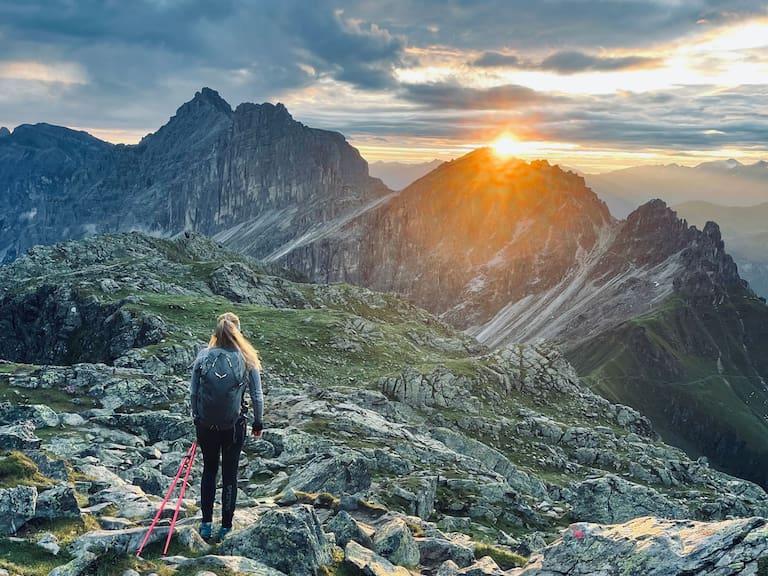 Hüttenpraktikantin Verena zu Besuch im Bergsteigerdorf Gschnitztal