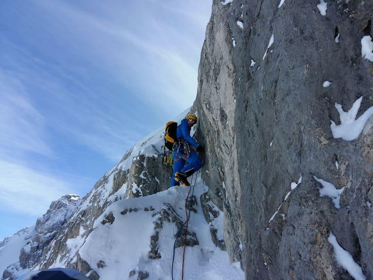 Christian Holzer bei der Vorbereitung für die Expedition Bolivien