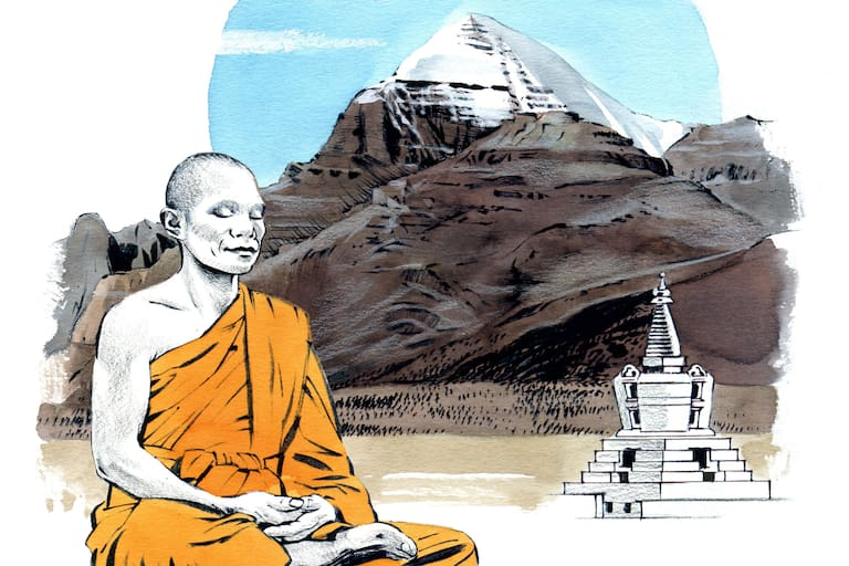 Kailash in Tibet
