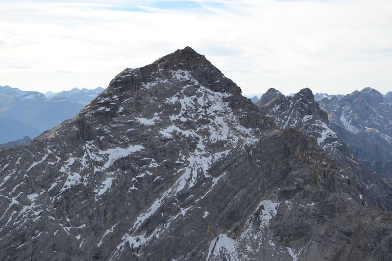 Blick auf die Urbeleskarspitze