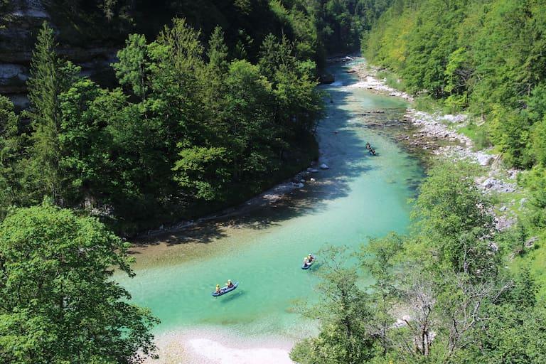Kanufahren Wildwasser Österreich Salza