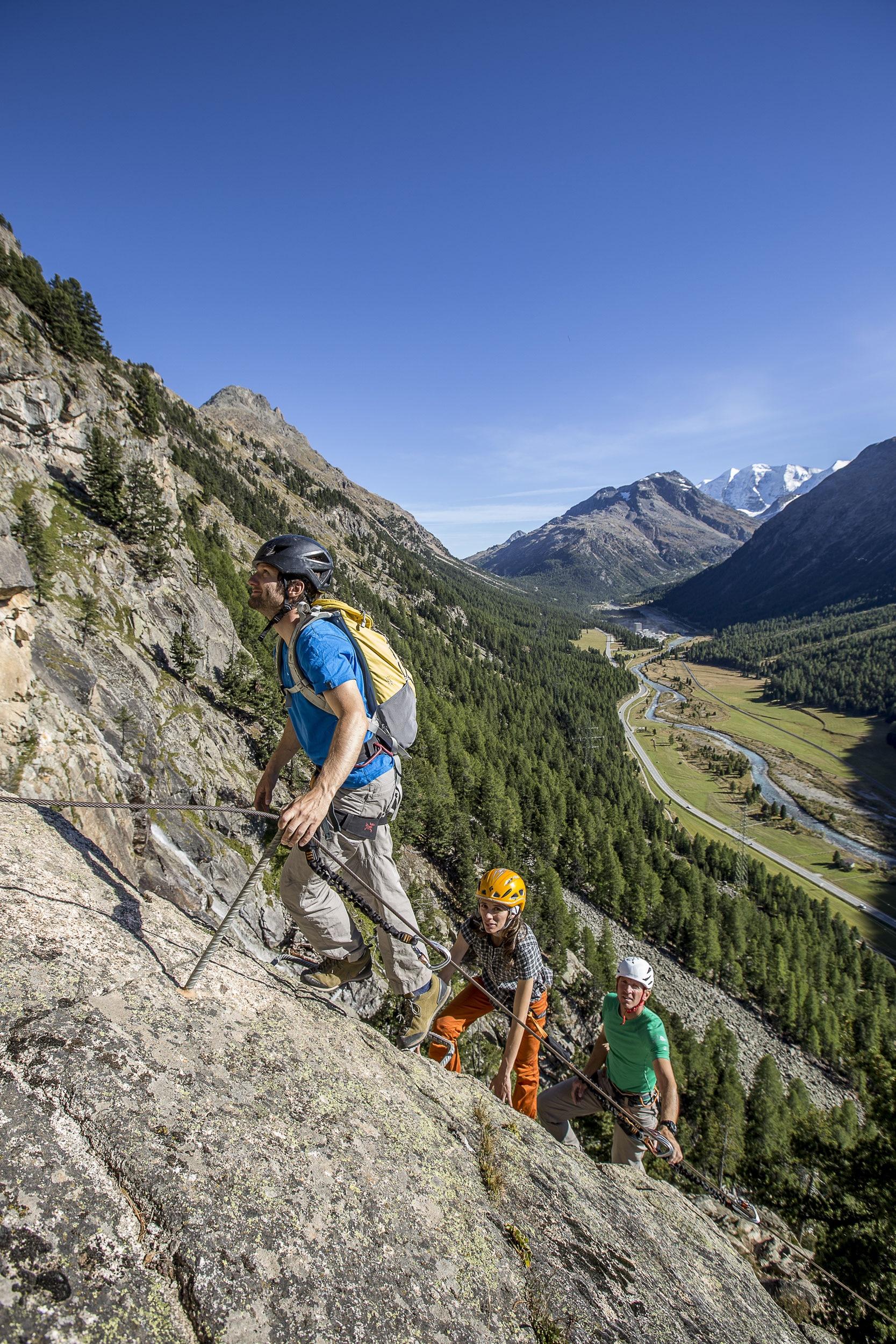Klettersteig Grade : Klettersteiggehen in der schweiz bergwelten