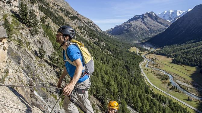 Klettersteigset Schweiz : Klettersteiggehen in der schweiz bergwelten