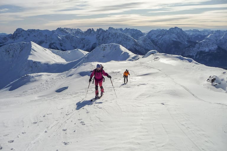 Skitour auf die Reiterkarspitze in den Karnischen Alpen