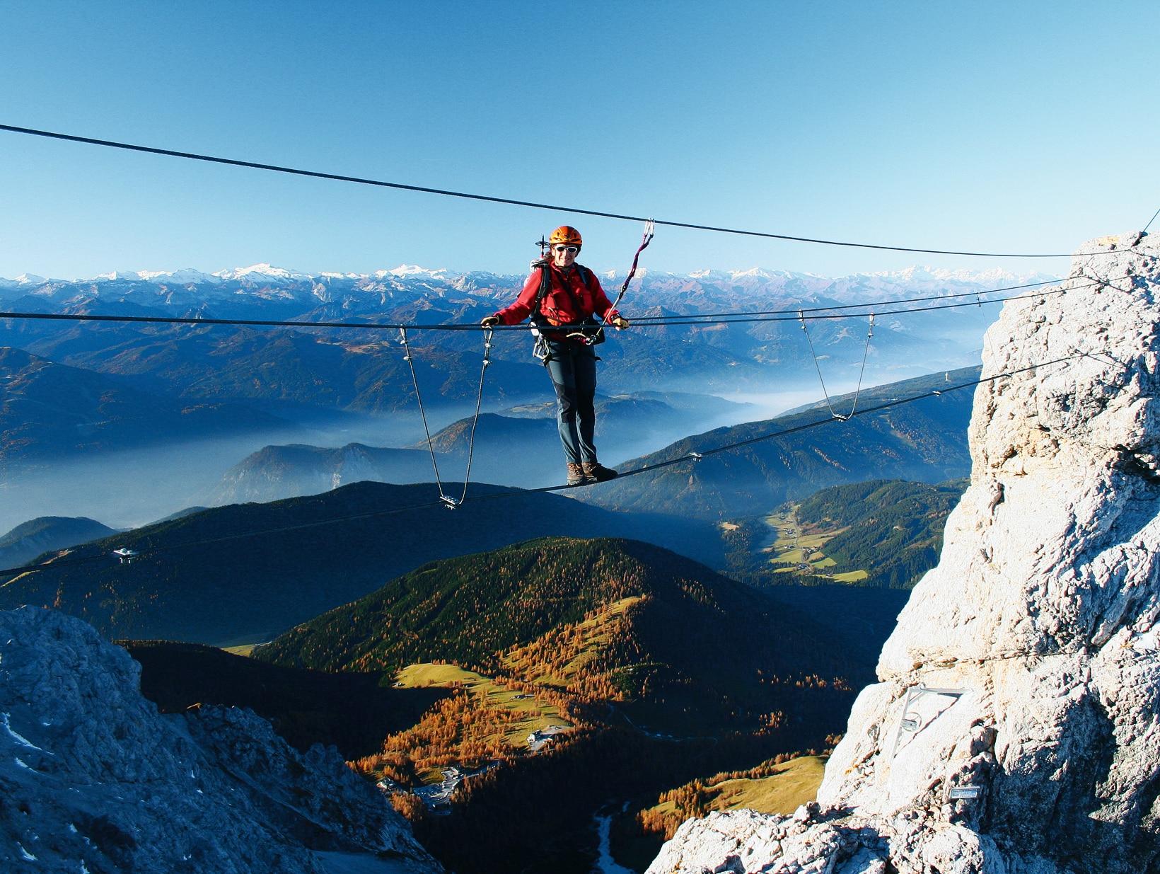 Klettersteig österreich : Der schönsten klettersteige in Österreich bergwelten