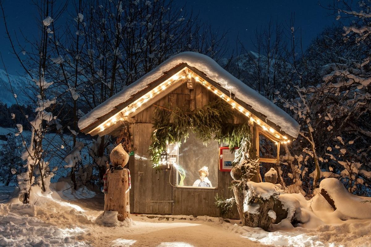 Verschneite Weihnachtsbilder.Die Schönsten Schauplätze Der Bergweihnacht Bergwelten