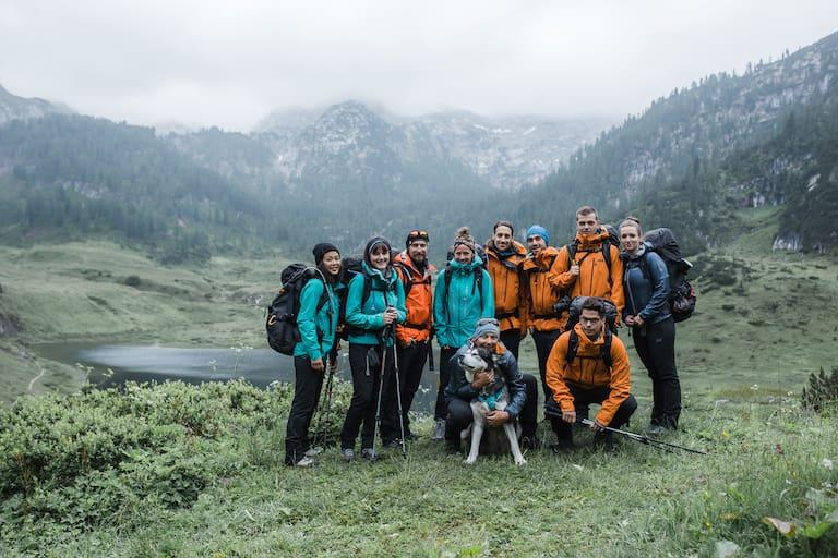 Jack Wolfskin Alpenüberquerung Teilnehmer