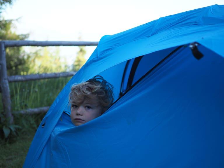 Zelt aufbauen Tipps