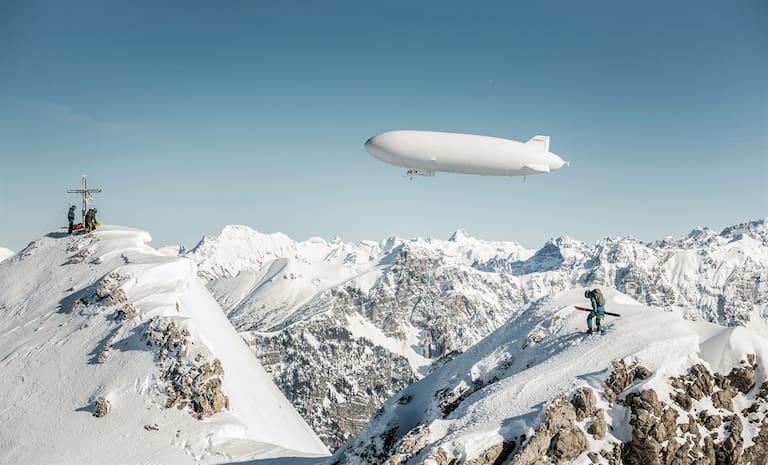 Zeppelinskiing