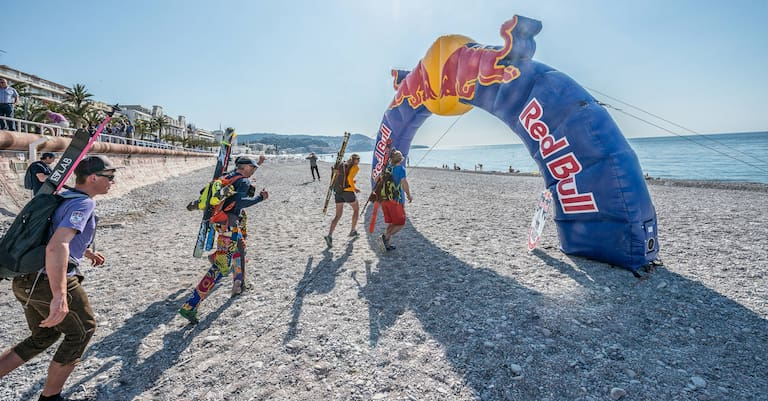 Red Bull Der lange Weg Zieleinlauf