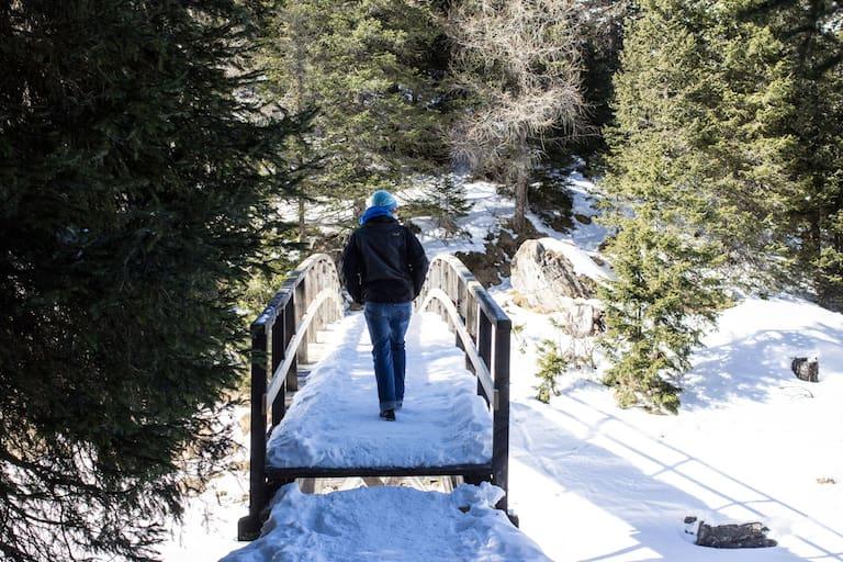 Winterwandern Tirol: Obernberger See