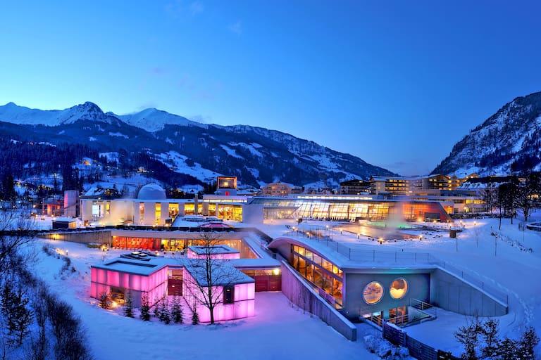 Salzburg: Alpentherme Gastein in Bad Hofgastein