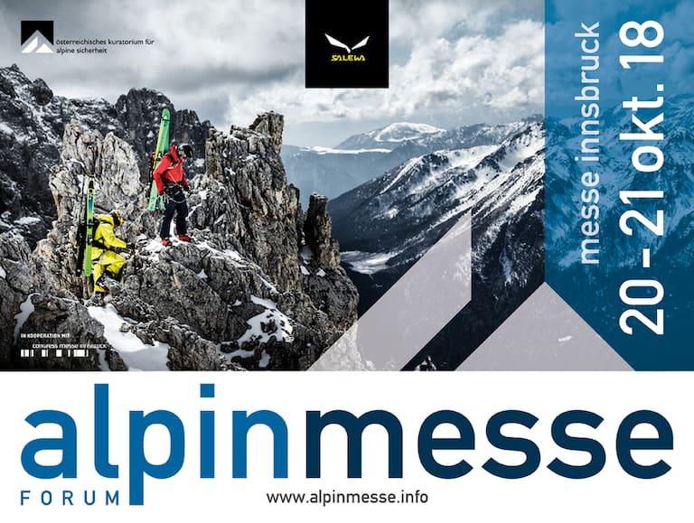 Die größte Bergsportmesse Österreichs von 20.-21.Oktober in Innsbruck