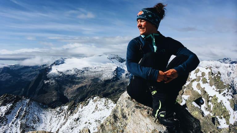 Ana Zirner Alpenüberquerung
