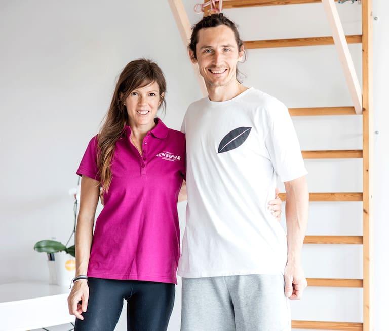 Klettertraining mit Andrea Maruna und Bernhard Fiedler