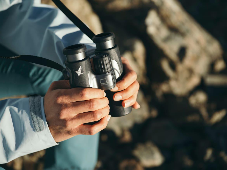 Durch eine einfache Handhabung kann der Sehkomfort rasch optimiert werden.