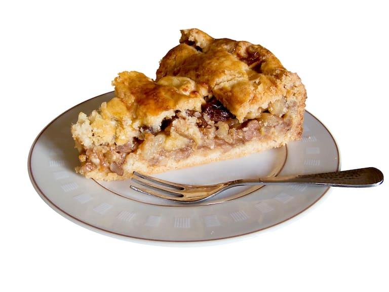 Kulinarische Hütten-Hochburgen: Apfelkuchen