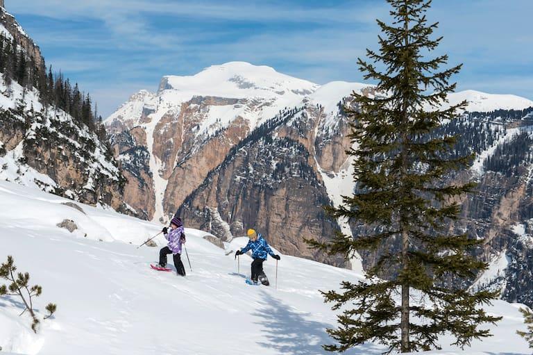 Auf Bergtour mit Kindern