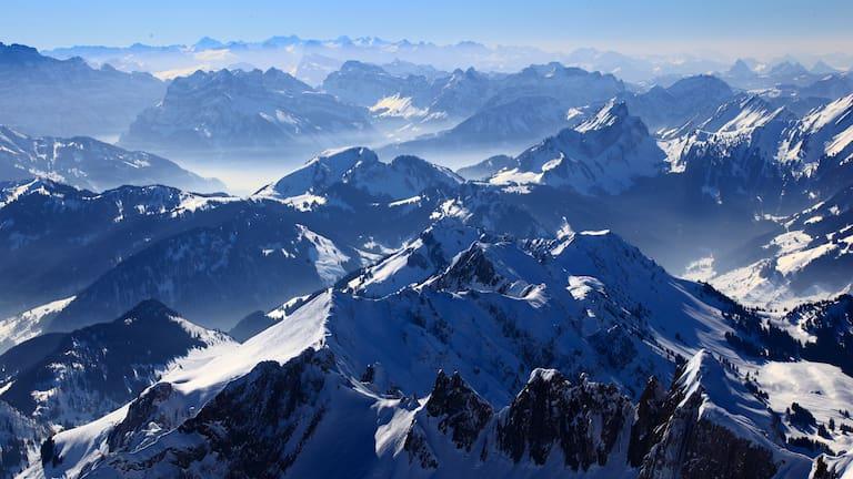 Appenzeller Alpen im Winter