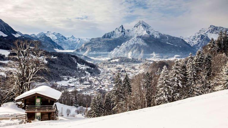Berchtesgaden Watzmann Winter