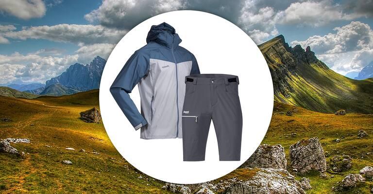 Tag 26 (26. August): gewinne eine Jacke und Shorts von Bergans