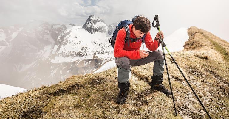 Was tun bei einem Notfall am Berg und keinem Empfang?