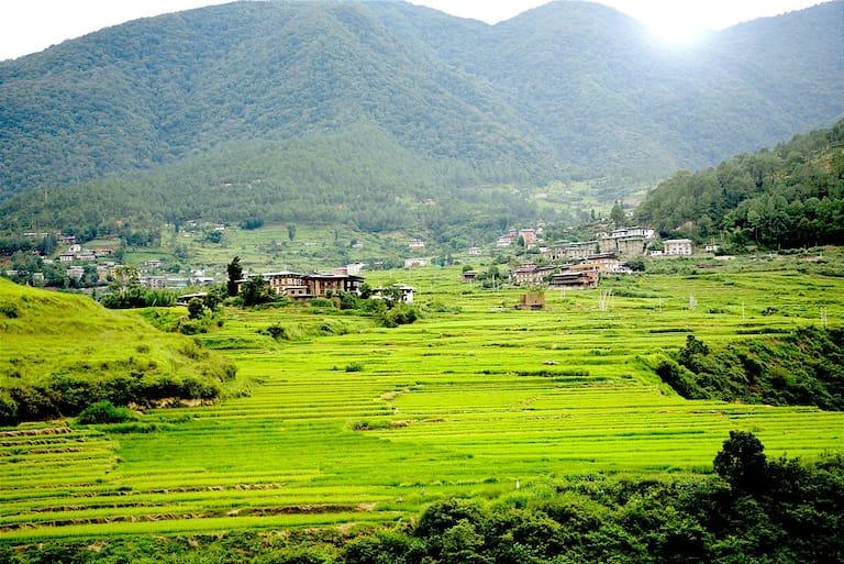 Bergwelten Bhutan