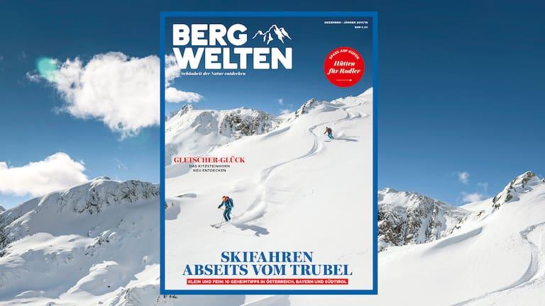 Cover: Bergwelten Magazin (Dezember/Januar 2017/18)