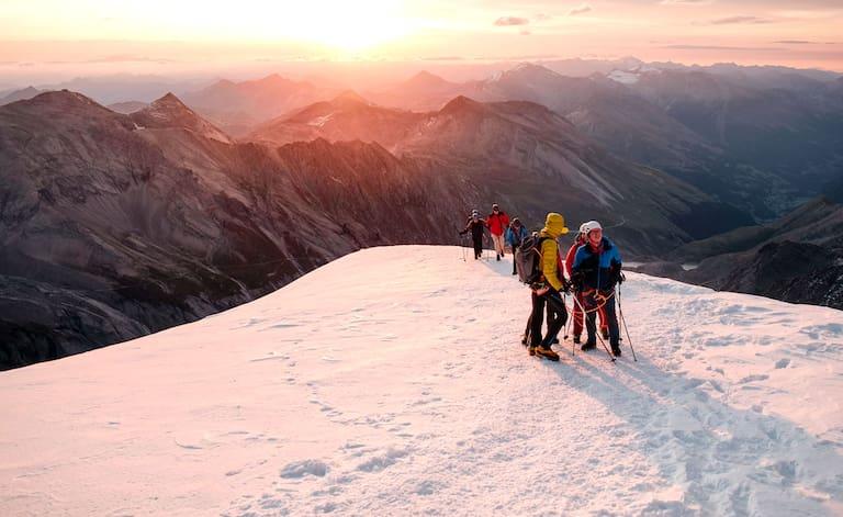 So schön kann es nur am Berg der Berge sein