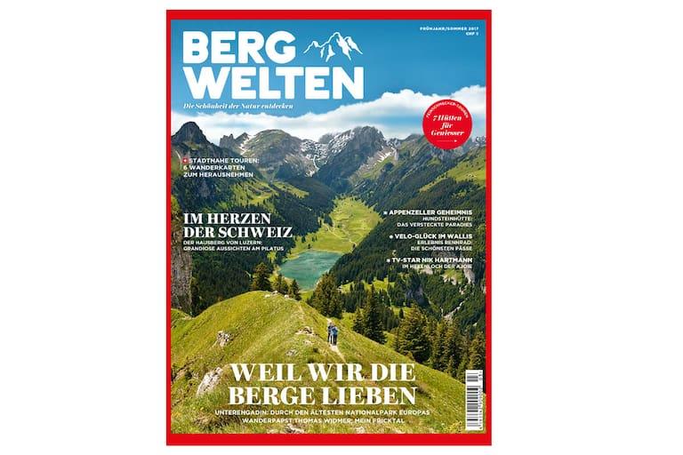 Cover: Bergwelten Schweiz (Frühjahr/Sommer 2017)