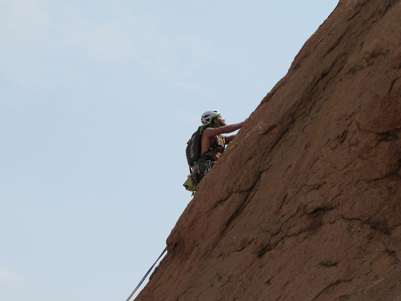 Klettern an der Spitzkoppe