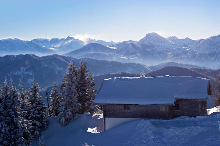Panorama: Brauneck in Bayern