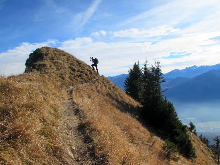 Hochgerach am Walserkamm in Vorarlberg