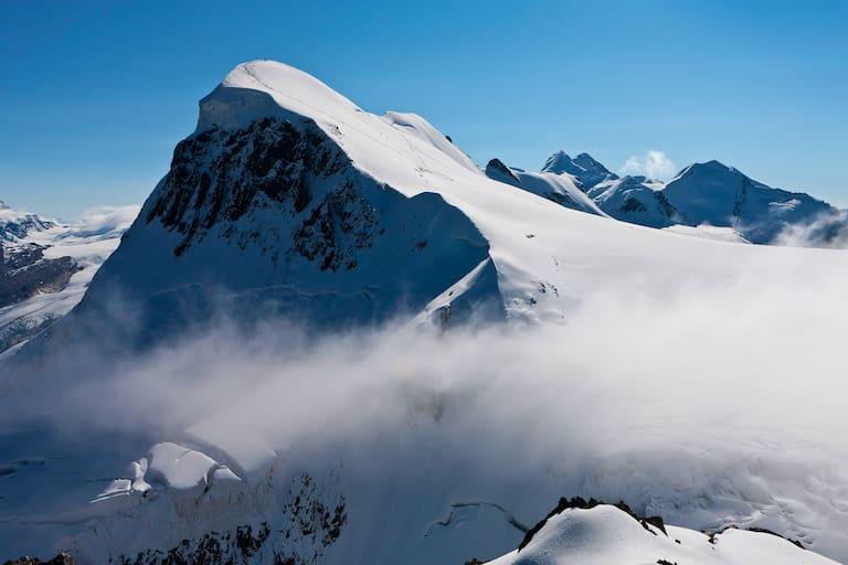 Schweiz: Breithorn in den Walliser Alpen
