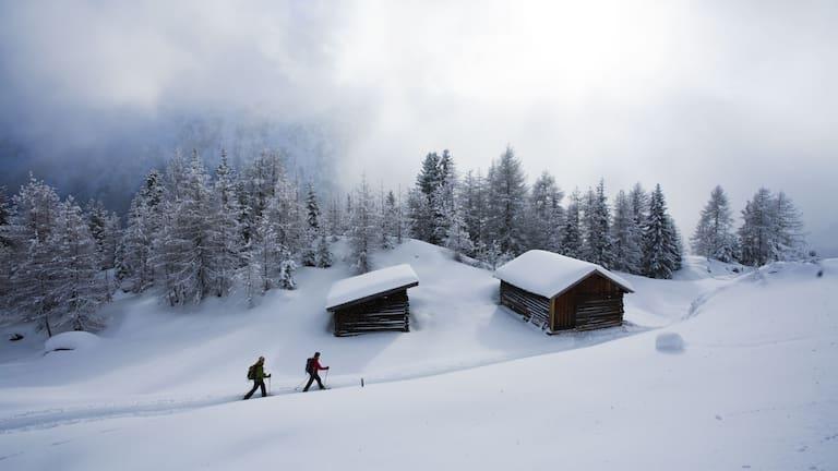 Winterwanderung in den Ötztaler Alpen: Sölden - Brunnenbergalm