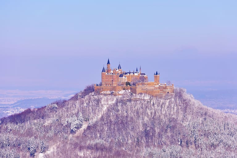 Burg Hohenzollern in Baden-Württemberg