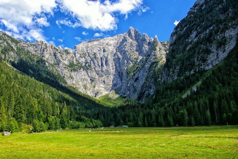 Scharitzkehlalm im Berchtesgadener Land: Wandern am Carl von Linde-Weg am Obersalzberg