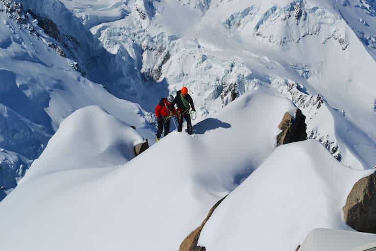 Unterwegs in den Bergen um Chamonix