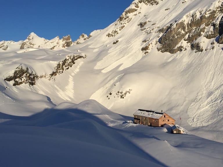 Claridenhütte Schweiz