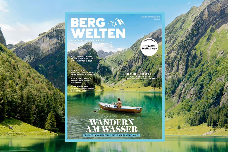 Cover vom Bergwelten Magazin (August/September 2017)