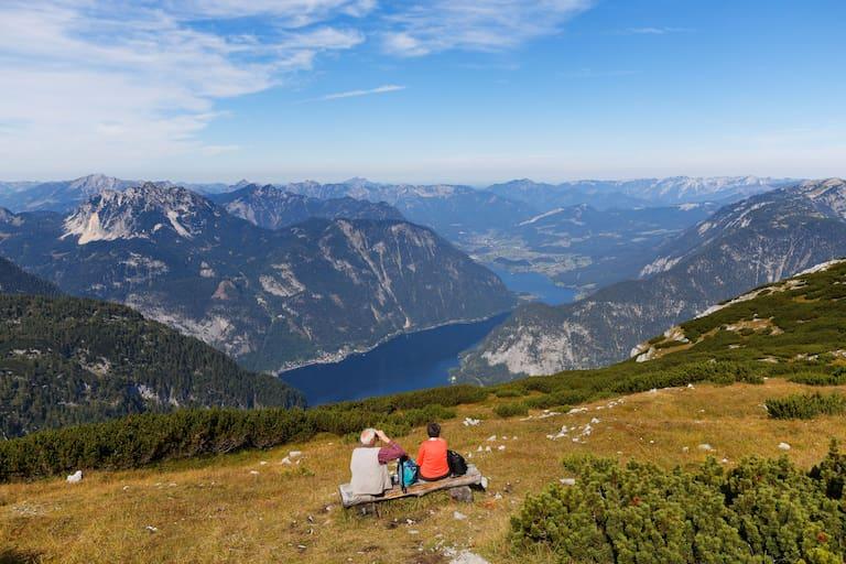 Im Dachsteingebirge südlich vom Hallstätter See