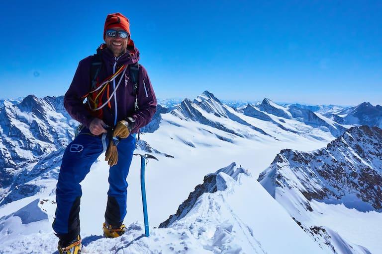 Mönch in der Schweiz: Michi Evans