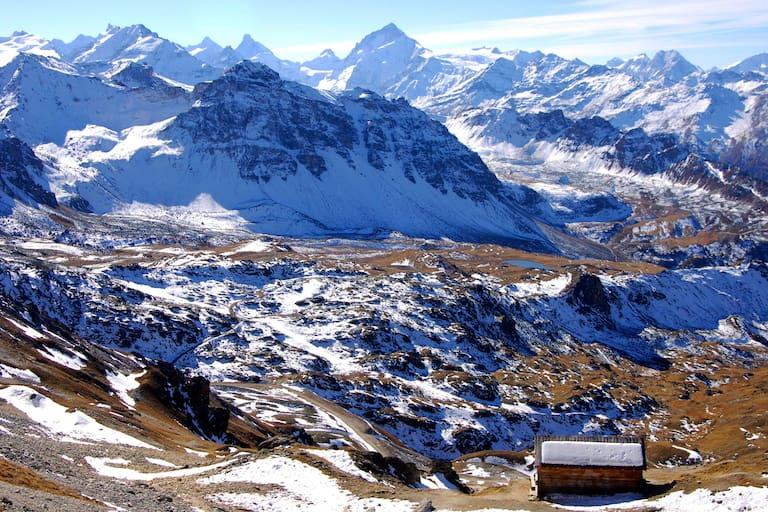 Schweiz: Dent Blanche in den Walliser Alpen