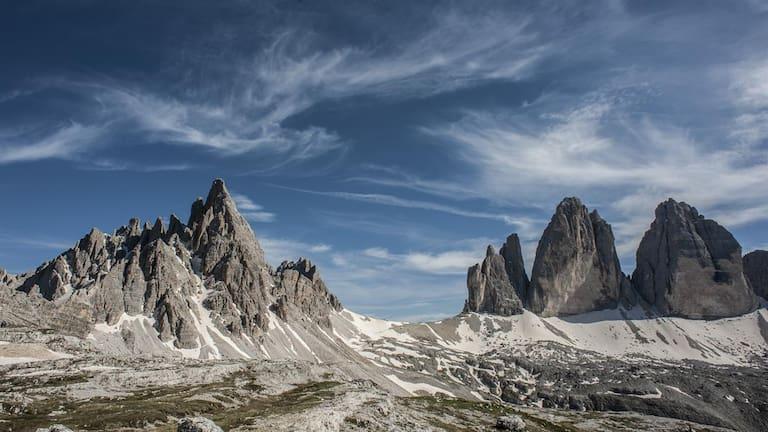 Die drei Zinnen: ein Ort der Sehnsucht und Zuflucht, nicht nur für Bergsteiger