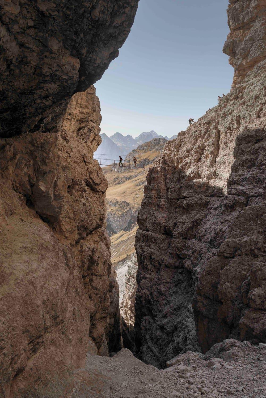 Imposante Klettersteigrunde: Dolomiten ohne Grenzen