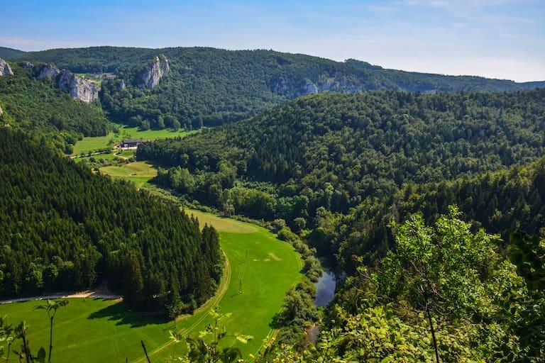 Donaufelsen-Tour: Wandern auf der Schwäbischen Alb in Baden-Württemberg