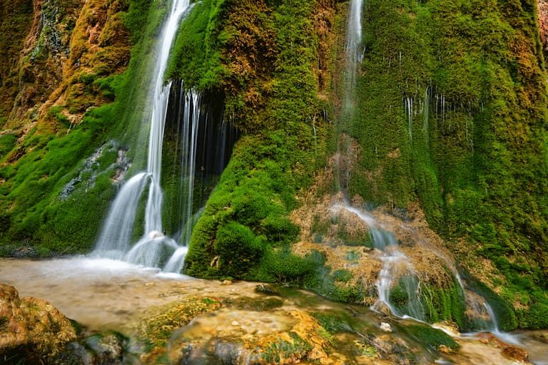 Der Dreimühlenwasserfall in der Eifel