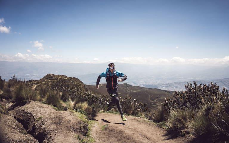 Trailrunning Ecuador