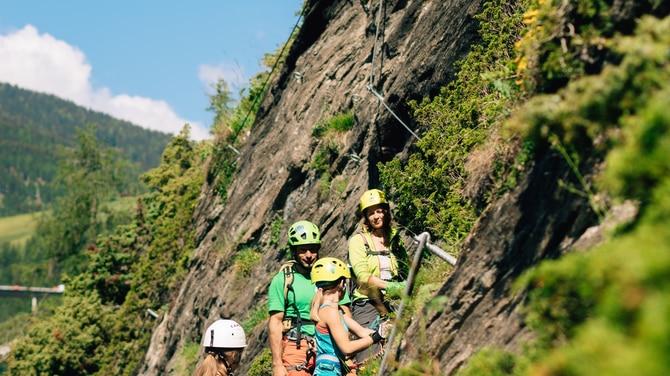 St Jodok Klettersteig : Klettersteig check: der peter kofler steig c bergwelten